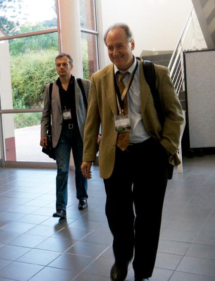 Philippe Couve et Dan Gillmor (2008)