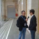 Philippe Couve avec Jack Dorsey (co-fondateur de Twitter)